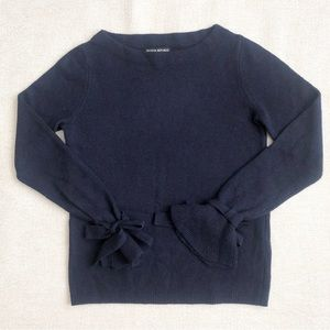 Banana Republic Navy Bow Sweater